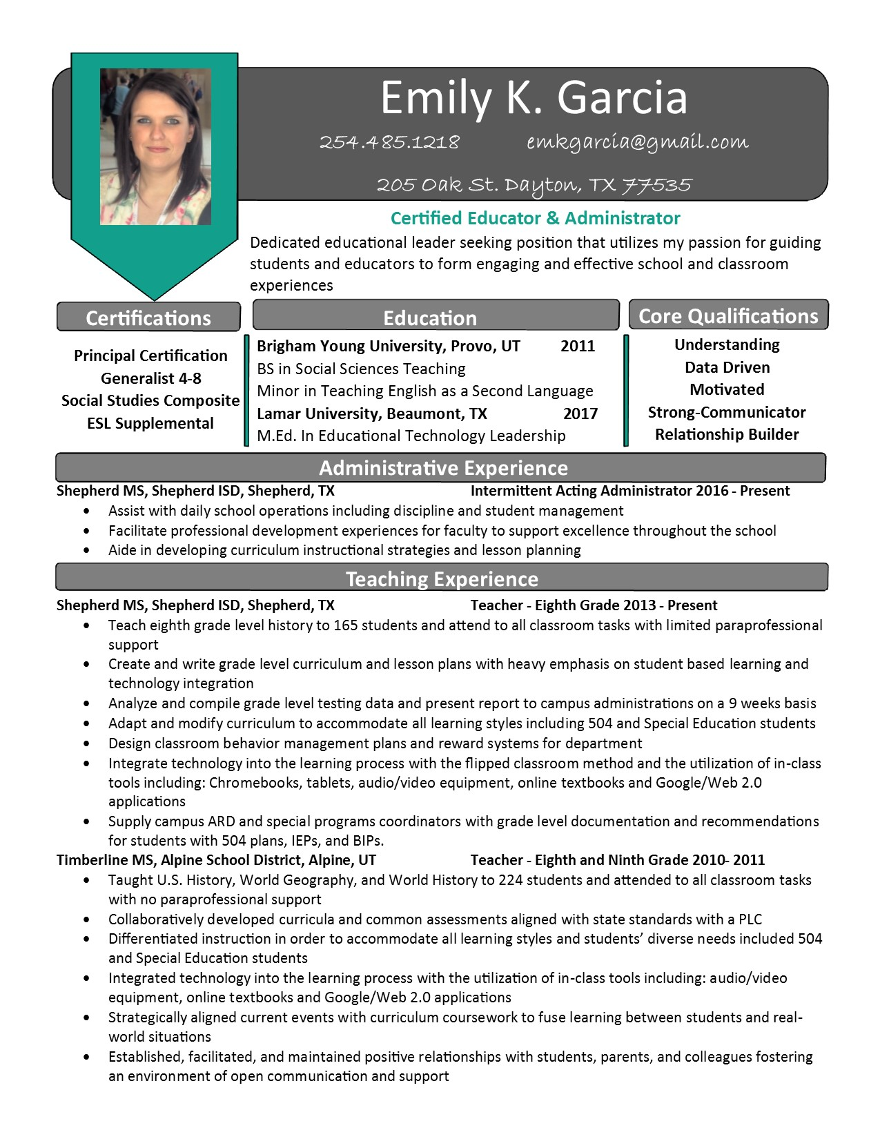 Magnificent Director Of Instructional Technology Resume Picture